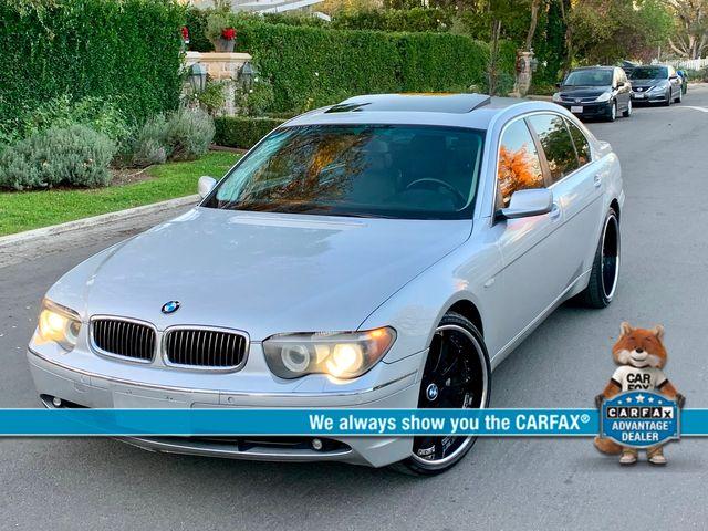 2005 BMW 745Li SPORTS PKG NAVIGATION SERVICE RECORDS NEW TIRES