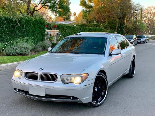 2005 BMW 745Li SPORTS PKG NAVIGATION SERVICE RECORDS NEW TIRES in Van Nuys, CA 91406