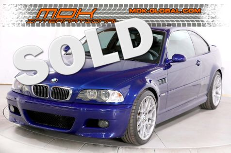 2005 BMW M Models M3 - Competition pkg - Interlagos Blue - SMG in Los Angeles