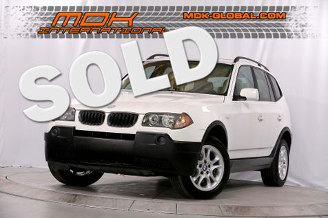2005 BMW X3 2.5i - Panoramic sunroof - Only 82K miles in Los Angeles