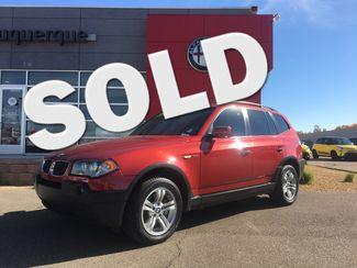 2005 BMW X3 3.0i 3.0i in Albuquerque New Mexico, 87109