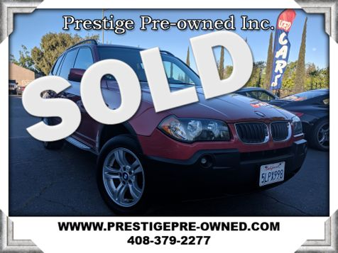 2005 BMW X3 3.0i ((**ALL WHEEL DRIVE**))  in Campbell, CA