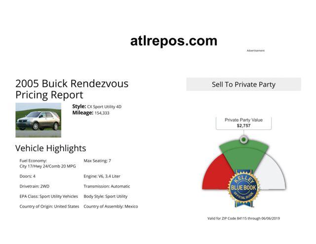 2005 Buick Rendezvous Salt Lake City, UT