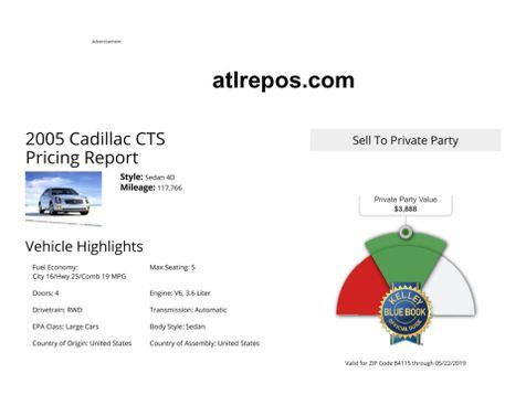 2005 Cadillac CTS  in Salt Lake City, UT
