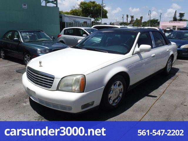 2005 Cadillac DeVille w/Livery Pkg Lake Worth , Florida 2