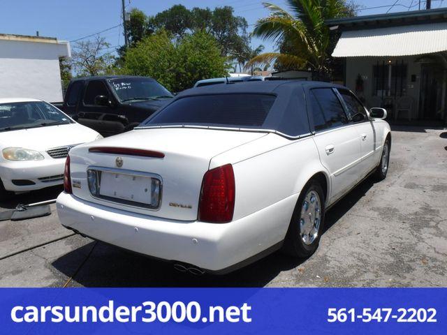 2005 Cadillac DeVille w/Livery Pkg Lake Worth , Florida 3