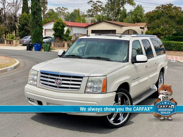 2005 Cadillac Escalade ESV PLATINUM EDITION DVD LEATHER NEW TIRES SERVICE RECORDS XLNT COND.