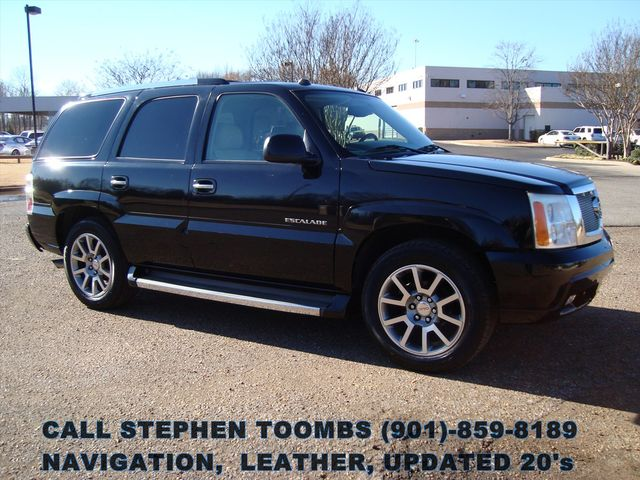 2005 Cadillac Escalade LEATHER, NAVIGATION, UPDATED 20's in Memphis Tennessee, 38115