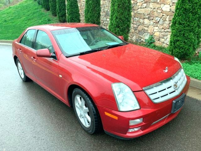 2005 Cadillac-Carfax Clean!! STS-LEATHER LOCAL TRADE SHOWROOM CONDITION BUY HERE PAY HERE LOW MILES