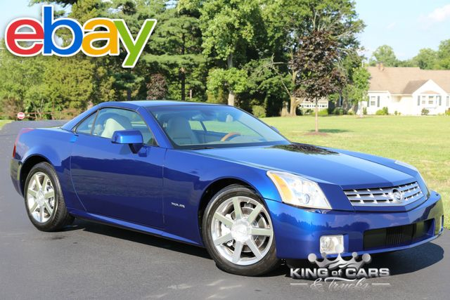 2005 Cadillac Xlr Convertible 52K ACTUAL MILES RARE XENON BLUE MINT in Woodbury, New Jersey 08096