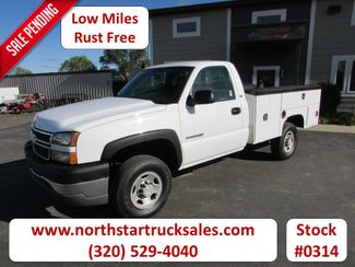 2005 Chevrolet 2500HD 2x4 Service Utility Truck   St Cloud MN  NorthStar Truck Sales  in St Cloud, MN