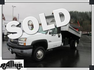 2005 Chevrolet 3500 Silverado, Dump Bed/ Snow Plow 6.6L Diesel in Burlington WA, 98233