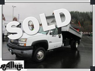 2005 Chevrolet 3500 Silverado, Dump Bed/ Snow Plow 6.6L Diesel in Burlington, WA 98233