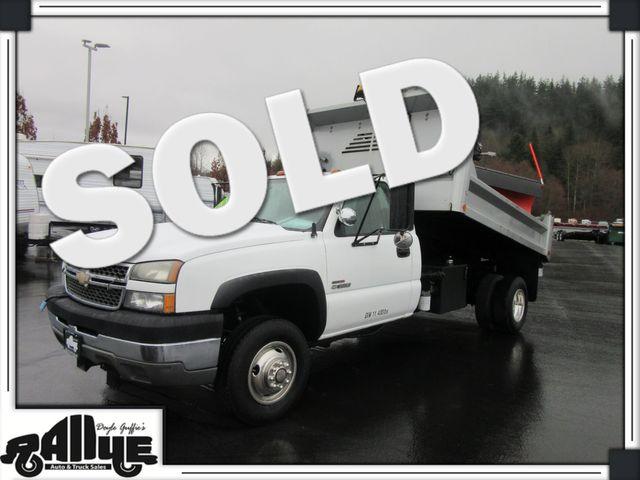 2005 Chevrolet 3500 Silverado, Dump Bed/ Snow Plow 6.6L Diesel