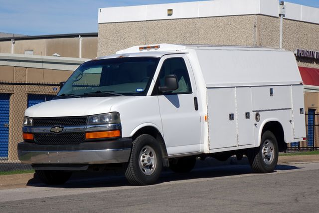 2005 Chevrolet Commercial Vans G30 Series Utility Van Body 6.0 Litre V8 Toolbox in Dallas, Texas 75220