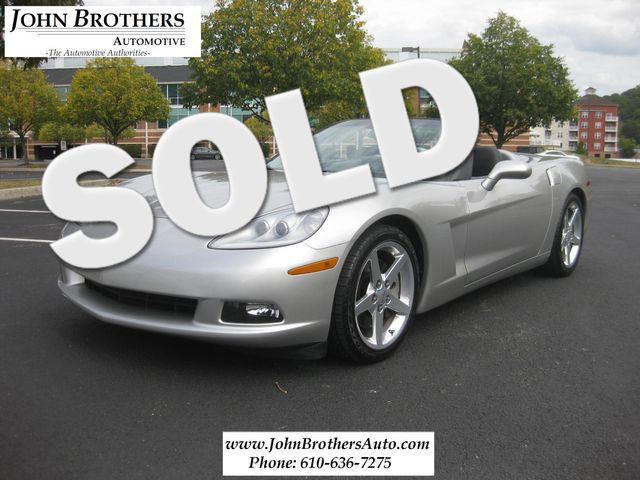 2005 Sold Chevrolet Corvette Convertible Conshohocken, Pennsylvania