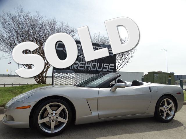 2005 Chevrolet Corvette Convertible 3LT, F55, NAV, Auto, Only 66k Miles! | Dallas, Texas | Corvette Warehouse  in Dallas Texas