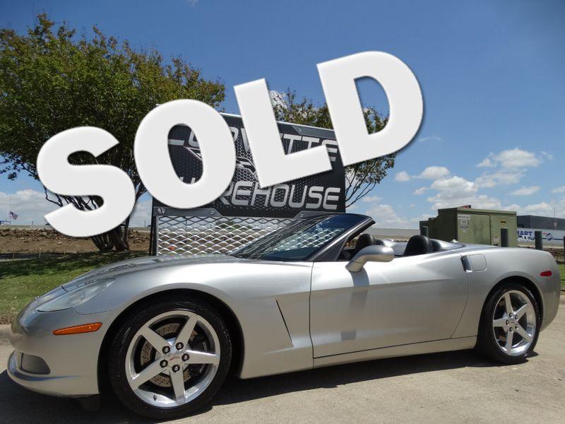 2005 Chevrolet Corvette Convertible 3lt Z51 Nav Polished Wheels 70k Dallas Texas Warehouse