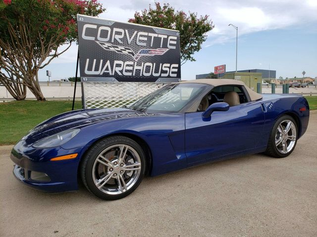 2005 Chevrolet Corvette Convertible 3LT, Z51, NAV, Auto, Chrome Wheels! | Dallas, Texas | Corvette Warehouse  in Dallas Texas