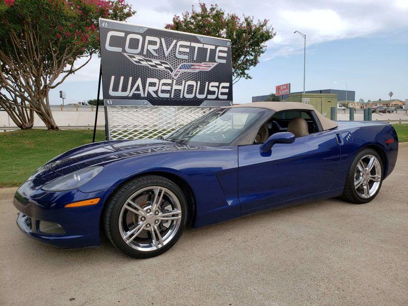 2005 Chevrolet Corvette Convertible 3LT, Z51, NAV, Auto, Chrome Wheels! | Dallas, Texas | Corvette Warehouse