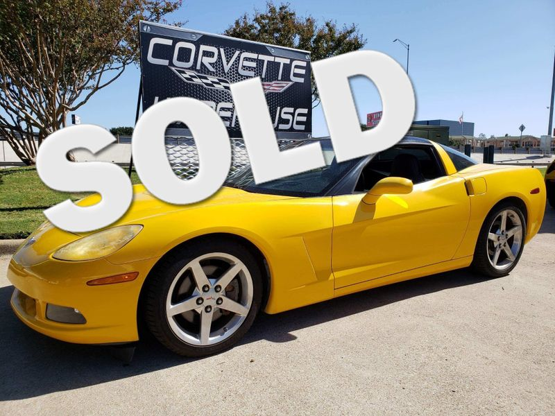2005 Chevrolet Corvette Coupe 1SB, Auto, Kenwood Radio, Polished Wheels! | Dallas, Texas | Corvette Warehouse