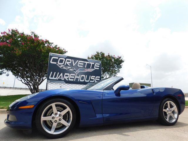 2005 Chevrolet Corvette Convertible 3LT, Z51, 6 Speed, NAV, Polished 81k in Dallas, Texas 75220