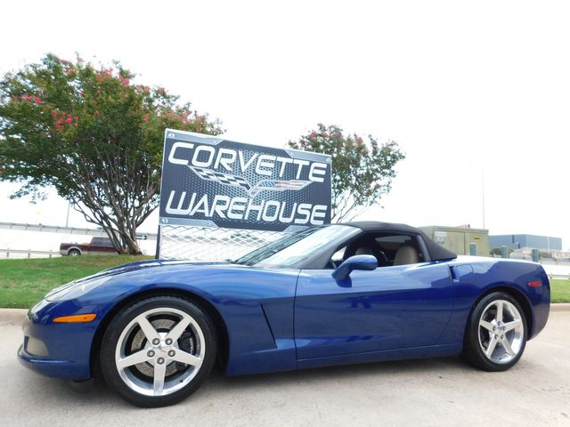 2005 Chevrolet Corvette Convertible 3LT, Z51, NAV, Polished Wheels 39k
