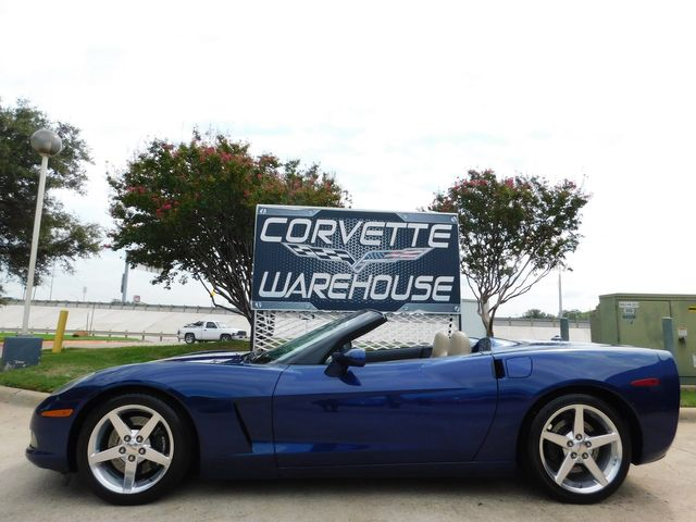 2005 Chevrolet Corvette Convertible 3LT, Z51, NAV, Polished Wheels 39k in Dallas, Texas 75220