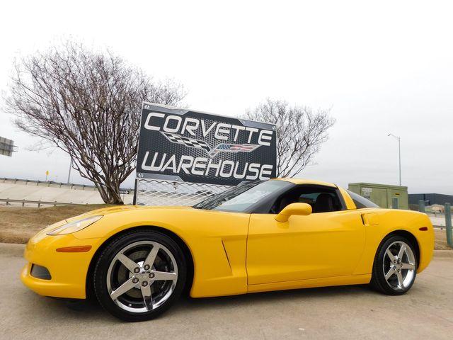 2005 Chevrolet Corvette Coupe 3LT, Z51, NAV, Auto, Chrome Wheels 60k