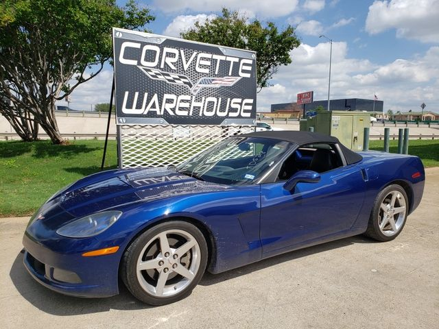 2005 Chevrolet Corvette Convertible 1SB, 3LT, Auto, NAV, Polished Wheels in Dallas, Texas 75220