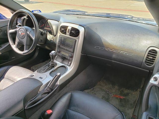 2005 Chevrolet Corvette Convertible 1SB, 3LT, Auto, NAV, Polished Wheels in Dallas, Texas 75220