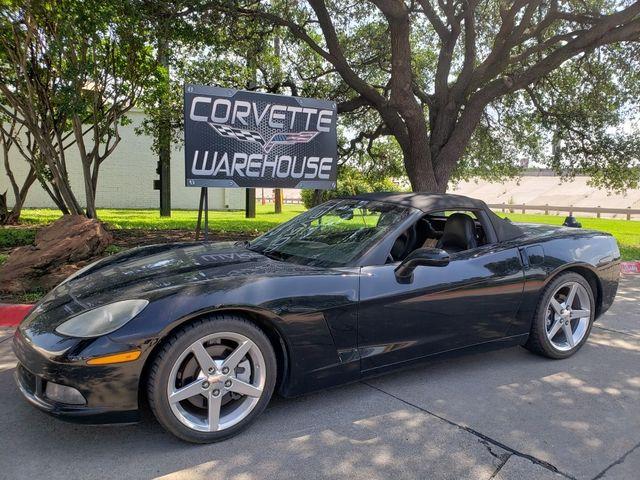2005 Chevrolet Corvette Convertible 3LT, F55, NAV, Polished Wheels 98k