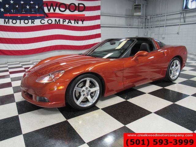 2005 Chevrolet Corvette Coupe Orange 6spd Manual Low Miles New Tires CAM