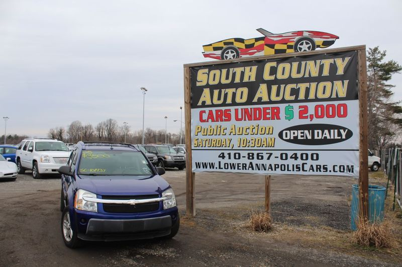 2005 Chevrolet Equinox LT  city MD  South County Public Auto Auction  in Harwood, MD
