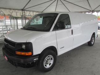 2005 Chevrolet Express Cargo Van Gardena, California