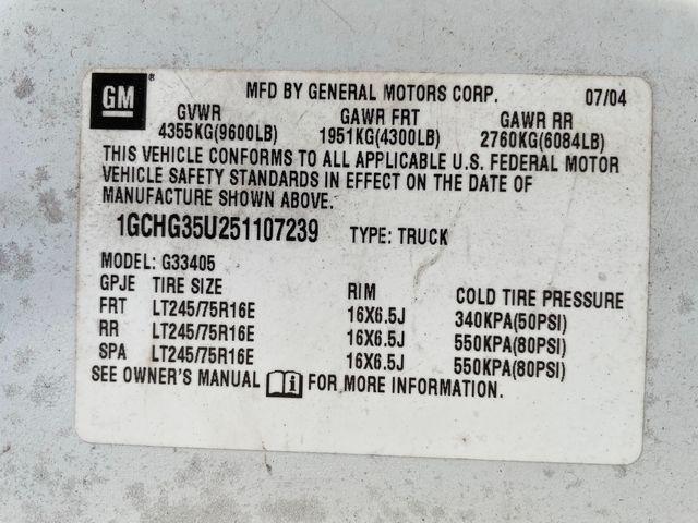 2005 Chevrolet Express Cargo Van Y3G Mobility Hoosick Falls, New York 7