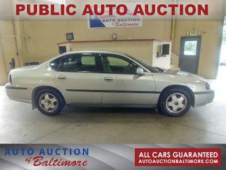 2005 Chevrolet Impala Base   JOPPA, MD   Auto Auction of Baltimore  in Joppa MD