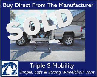 2005 Chevrolet Silverado 2500 Wheelchair Pickup Truck Wheelchair Van Handicap Ramp Van Pickup Truck Pinellas Park, Florida