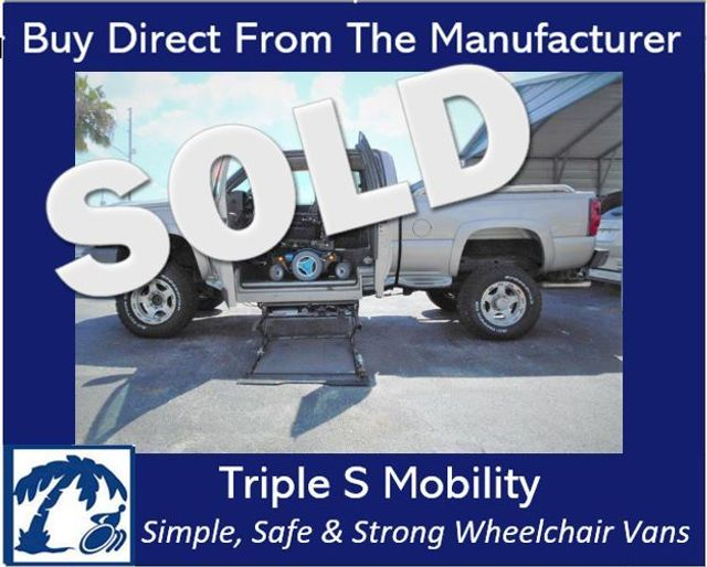 2005 Chevrolet Silverado 2500 Wheelchair Pickup Truck Wheelchair Van Handicap Ramp Van Pickup Truck