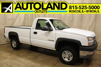 2005 Chevrolet Silverado 2500HD 6 speed manual 8.1L Work Truck in Roscoe, IL 61073