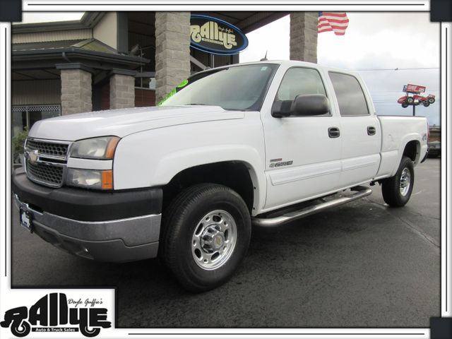 2005 Chevrolet Silverado 2500HD Crew Cab LT in Burlington, WA 98233