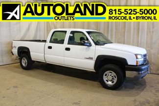 2005 Chevrolet Silverado 2500HD diesel 4x4 long bed Work Truck in Roscoe, IL 61073