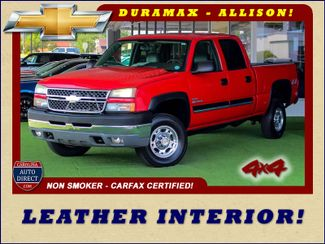 2005 Chevrolet Silverado 2500HD LS Crew Cab 4x4 - LEATHER - DURAMAX - ALLISON! Mooresville , NC