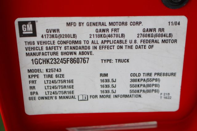 2005 Chevrolet Silverado 2500HD LS Crew Cab 4x4 - LEATHER - DURAMAX - ALLISON! Mooresville , NC 40