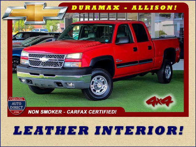 2005 Chevrolet Silverado 2500HD LS Crew Cab 4x4 - LEATHER - DURAMAX - ALLISON! Mooresville , NC 0