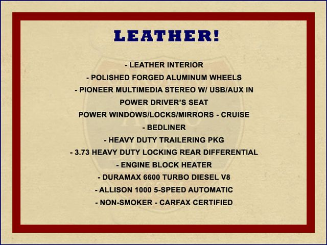 2005 Chevrolet Silverado 2500HD LS Crew Cab 4x4 - LEATHER - DURAMAX - ALLISON! Mooresville , NC 1