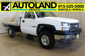 2005 Chevrolet Silverado 2500HD Diesel 4x4 Manual Work Truck in Roscoe IL, 61073
