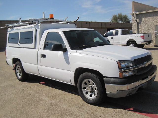 2005 Chevrolet Silverado Reg Cab, Utility Topper. L/Rack, 1 Owner Work Truck