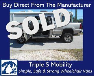 2005 Chevrolet Silverado Wheelchair Pickup Truck Handicap Pickup Truck Pinellas Park, Florida
