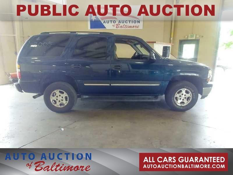 2005 Chevrolet Tahoe LS   JOPPA, MD   Auto Auction of Baltimore  in JOPPA MD